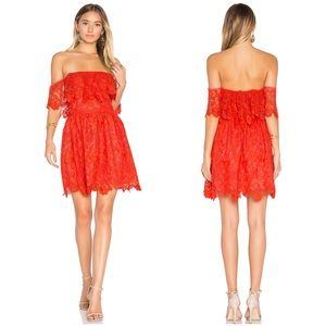 Lovers + Friends Dream Vacay Lace Dress